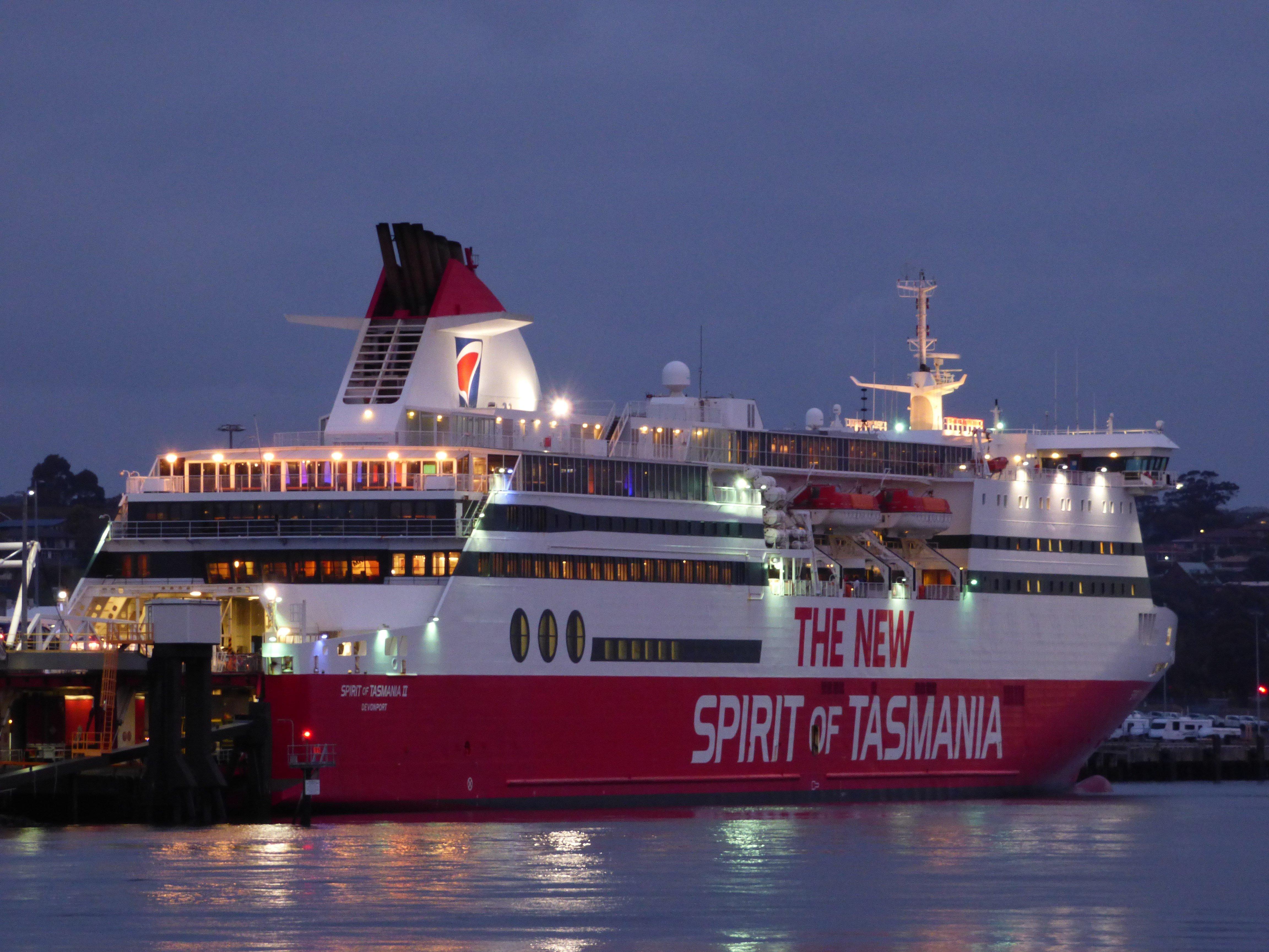 Day-1 Spirit of Tasmania, Port Melbourne